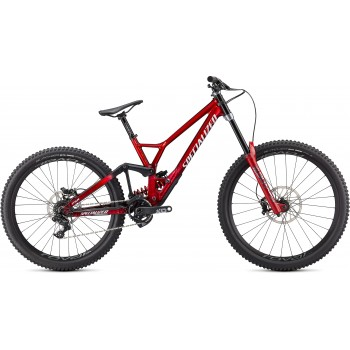 Specialized DEMO RACE GLOSS BRUSHED / RED TINT / WHITE (2020)