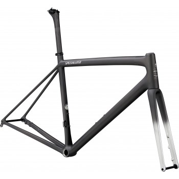 Specialized AETHOS FRMSET Satin Carbon/Flake Silver (2021)